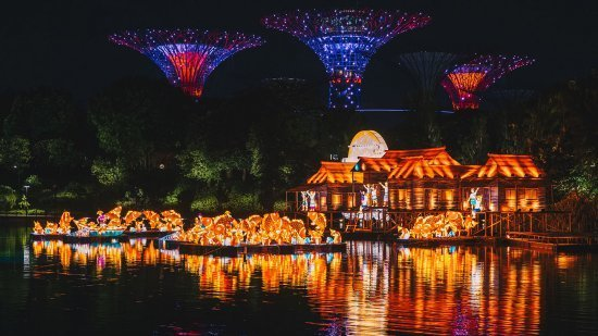 Mid Autumn festival, gardens by the bay, supertree groove, wan qing yuan, sun yat sen memorial hall, mooncake, chinatown singapore