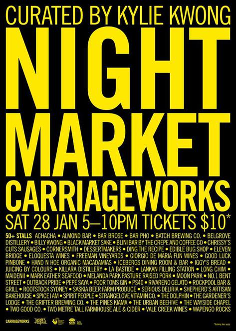 Night Market at Carriageworks