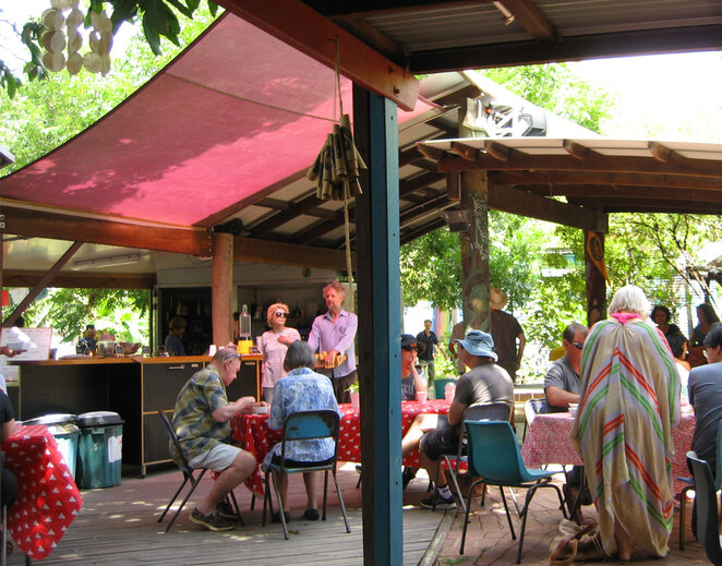 The cafe is a great place for breakfast or brunch and is run by volunteers