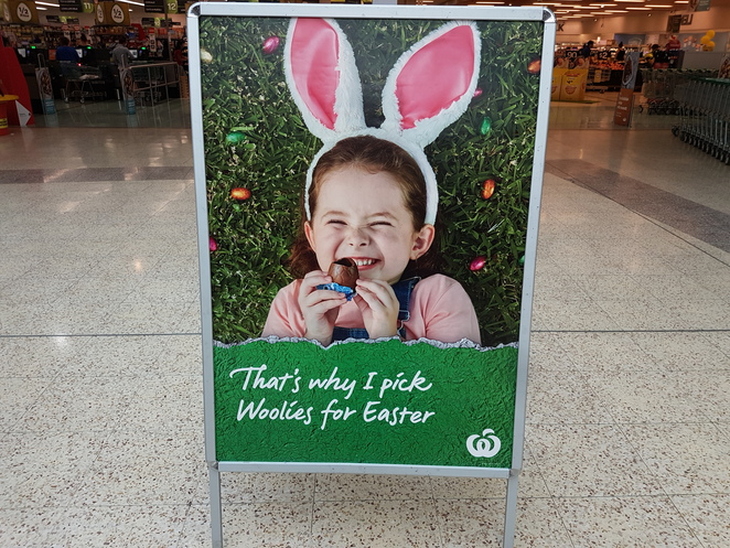 Northpark shopping centre, Prospect, Easter egg hunt