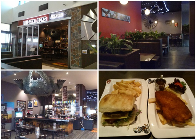 outback jacks, belconnen, canberra, teenagers, restaurants, family friendly, steaks, burgers,