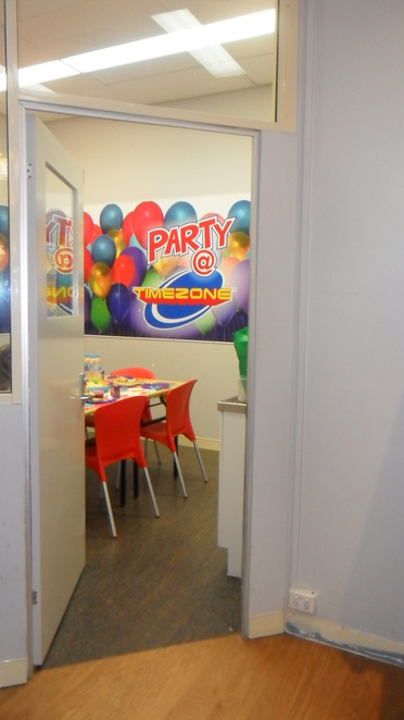 Party Timezone Kids Birthday