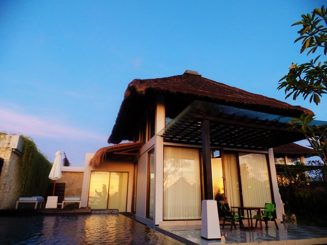 pool villa at Samabe Bali Suites & Villas