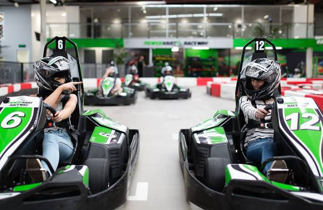power kart raceway, canberra, girls day out, ACT