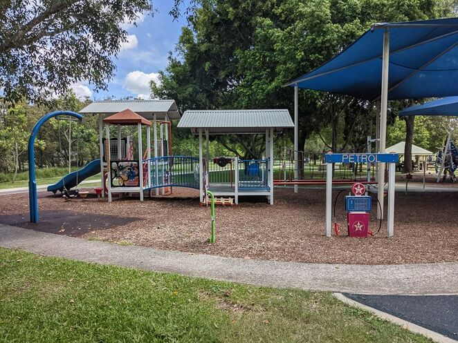 Petrol Station Playground at Perrin Park