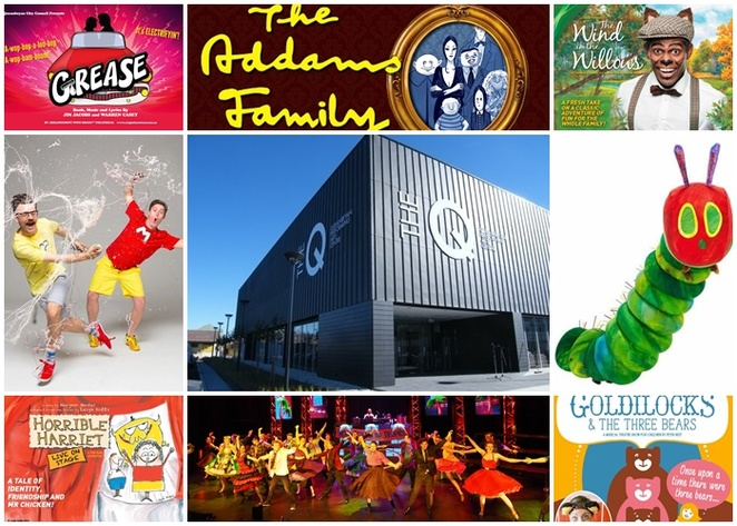 queanbeyan performing arts centre, queanbeyan, NSW, ACT, canberra, school holiday activities, live shows,