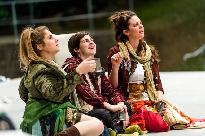 Photo courtesy of The Queensland Shakespeare Ensemble