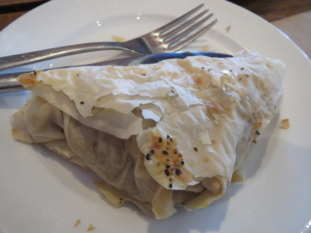 Red Mill Bakehouse, Pumpkin & Feta Pastry, Adelaide
