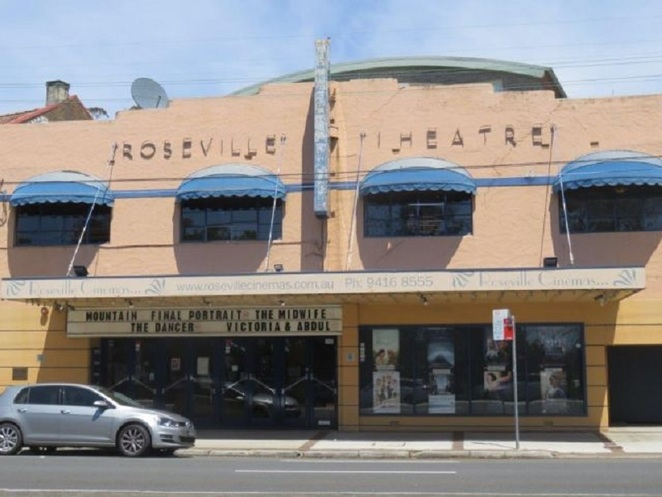 Roseville cinema, best suburban cinema sydney