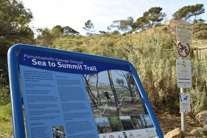 Sea to Summit, Mt Lofty Summit, George Driscoll, Parruntayinthi, Belair National Park, Crafers to Lofty, Garden Reserve, Gilbertsons Gully, O'Halloran Hill Recreation Park, Blackwood Hills Reserve, Wittunga Botanic Gardens