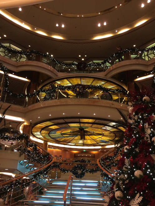 sun princess, princes cruises, come back new, atrium