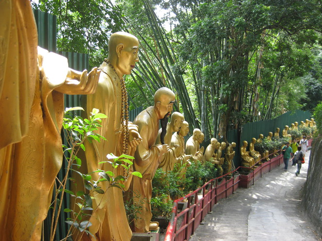 Ten Thousand Buddhas Monastery