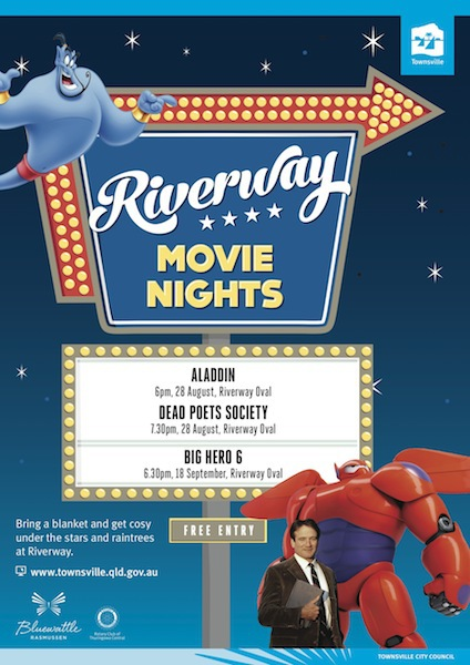 townsville, free, movies