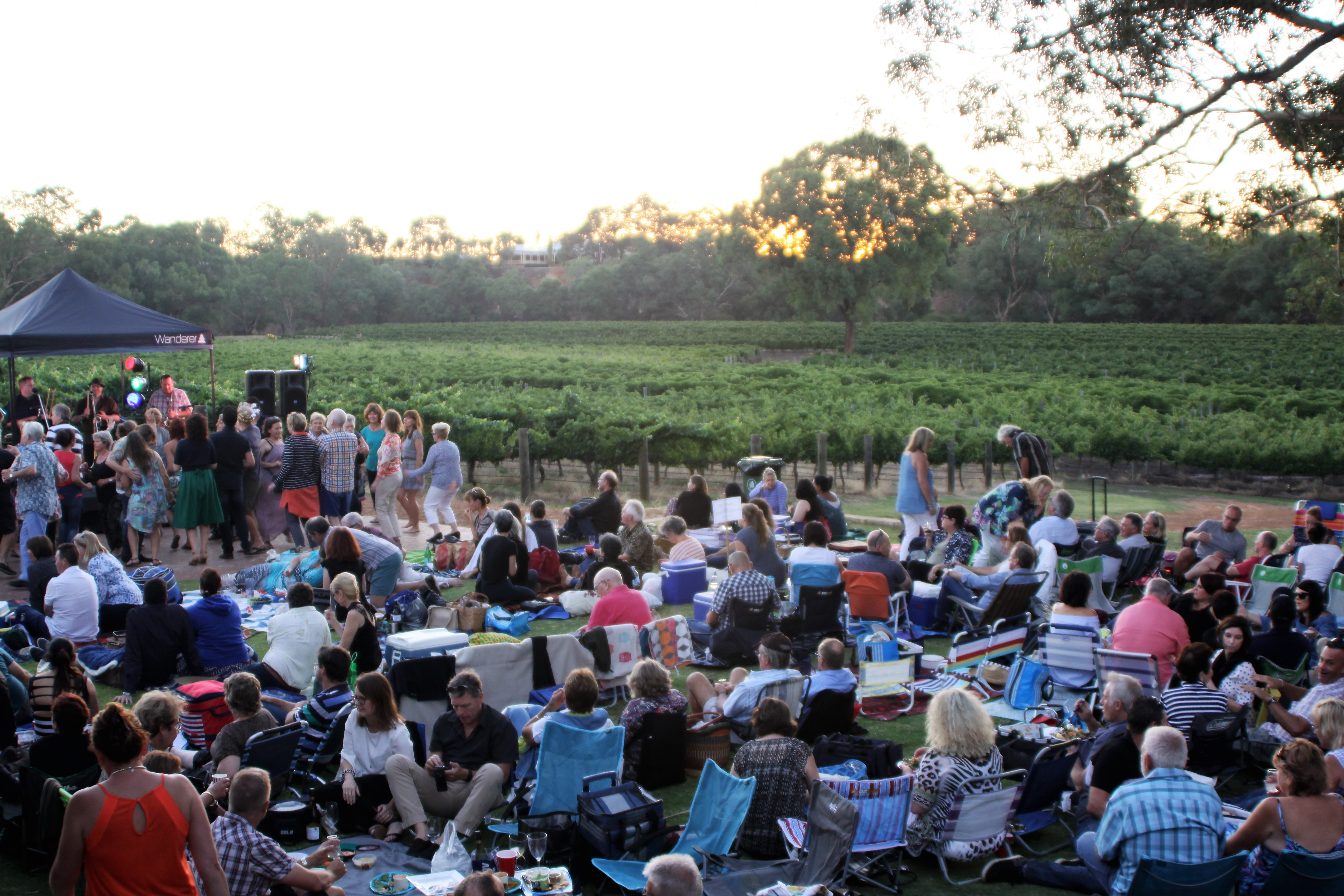 twilight concerts at upper reach winery perth. Black Bedroom Furniture Sets. Home Design Ideas