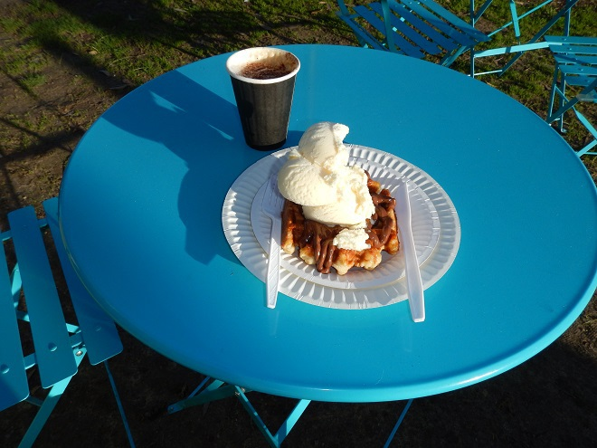 Waffles and Jaffles, Liege waffles, Coonalpyn, coffee, cafe, truck stop