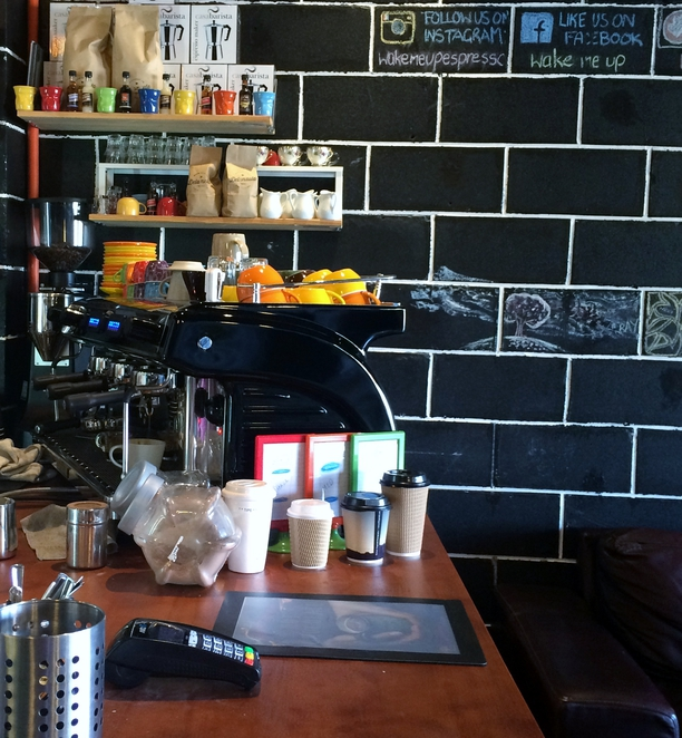 Wake Me Up Espresso Bar, Wake Me Up Delamauta, Wake me up Slacks Creek, Coffee, Coffee Shop, Cafe , Brisbane Coffeehouse