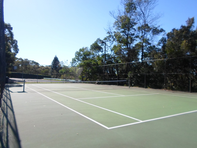 warrimoo oval, st ives chase ovals, warrimoo tennis courts