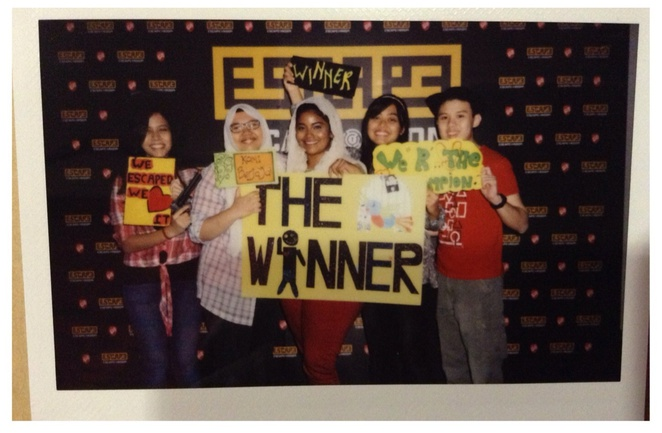 winner escape room e@curve