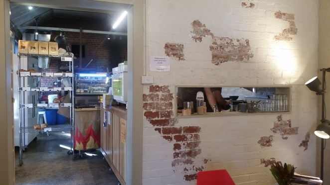 Cannibal Creek Bakehouse Interior