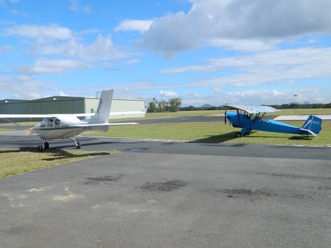 Air flights over Caboolture