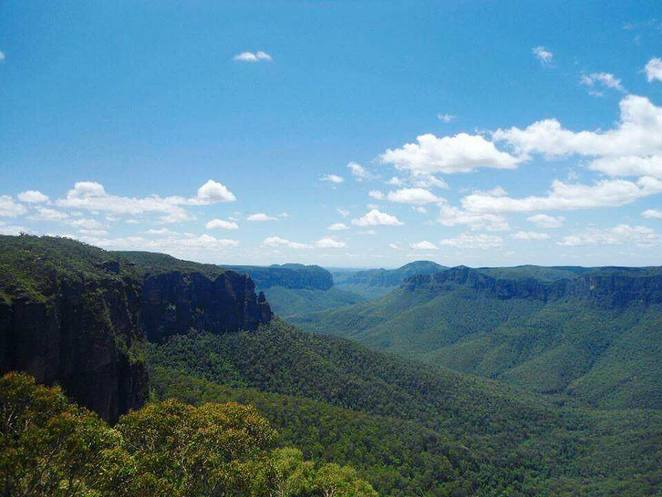 blue mountains, blackheath, govetts leap, nsw, great mountain, roadtrip
