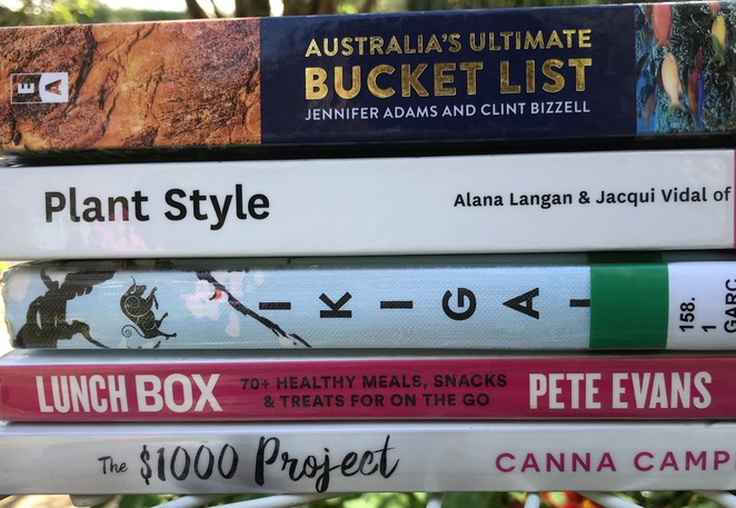 Books, book reviews, travel, Ikigai, 1000 project, lunch box, new hobbies, new year