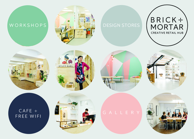 Bricks and Mortar Creative Retail Hub at Norwood