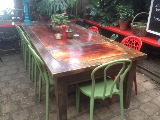 Table & Chairs, Cafe Go Courtyard