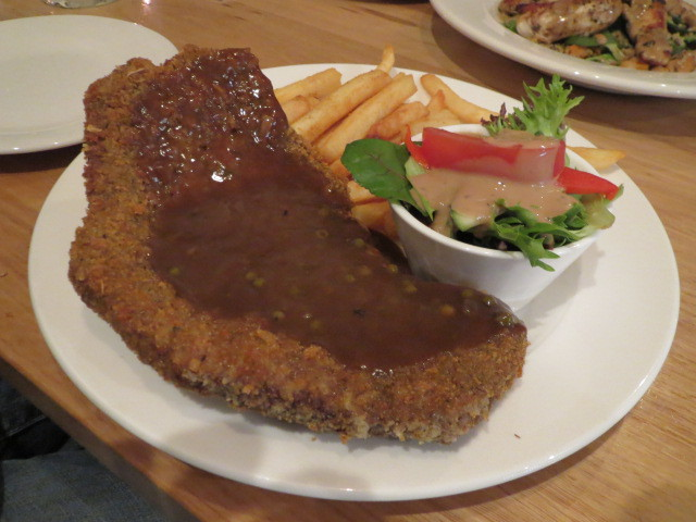 Cathedral Hotel, Angus Beef Schnitzel, Adelaide