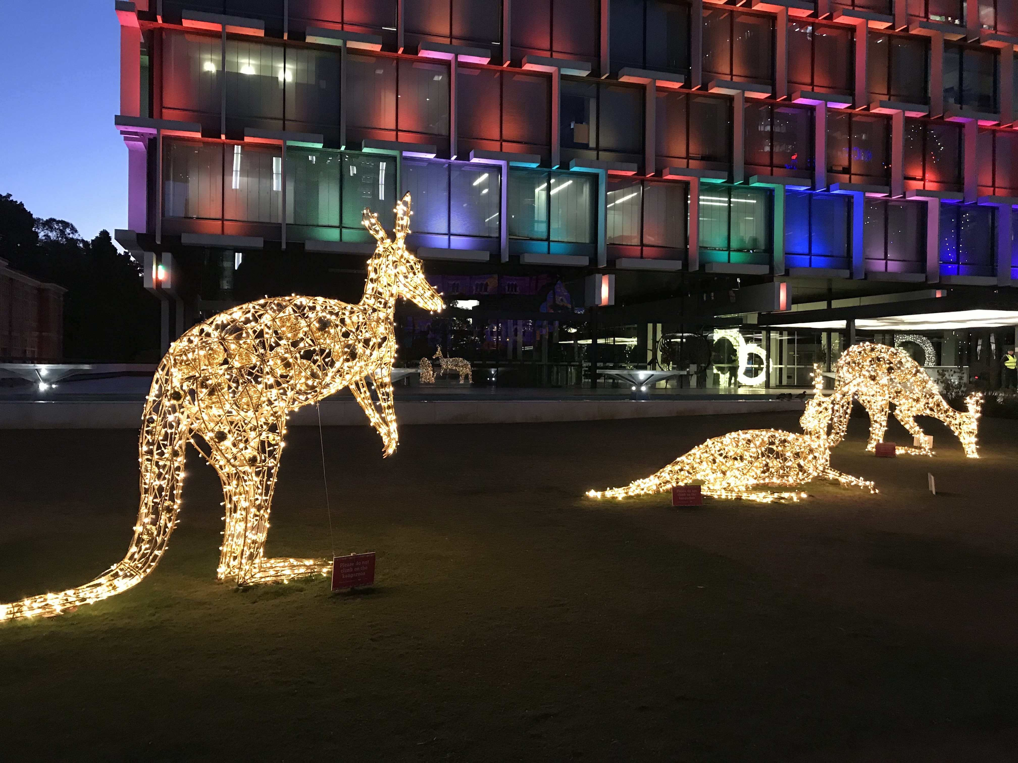 Christmas Kangaroo Lights.Christmas Lights Trail Perth 2018 Perth