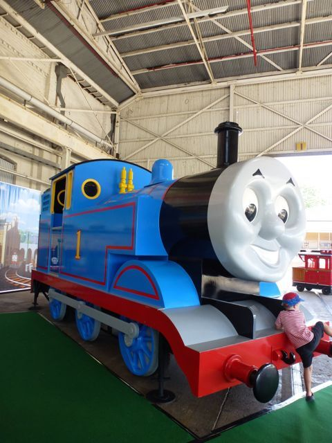 Day out with Thomas, Thomas, Ipswich, Workshops Rail Museum, school holidays