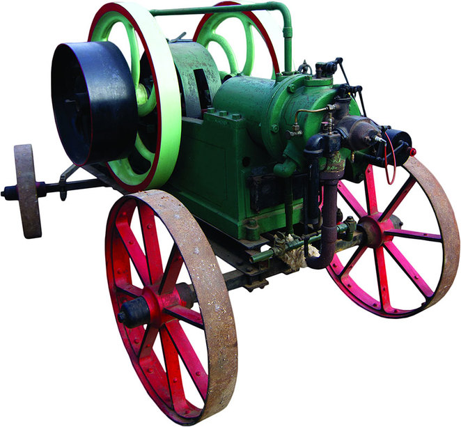 Discover Wheezing Workhorses at the South West Rail and Heritage Centre. Victoria Oil Engine: This machine was used for driving a water pump and a chaff cutter by the Clarke family in Burekup.