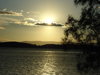 Spectacular Views over Lake Macquarie from the park