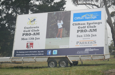Clifton Springs Golf Club Celebrity Pro-Am 2014