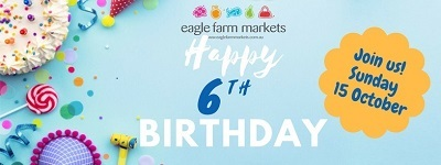 eagle farm markets, birthday party, racecourse road