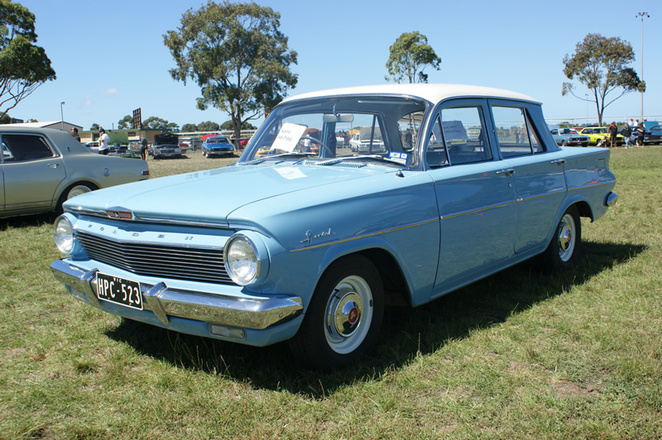 EH Holden on Display