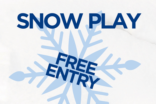 FREE Snow Play at Harbour Town