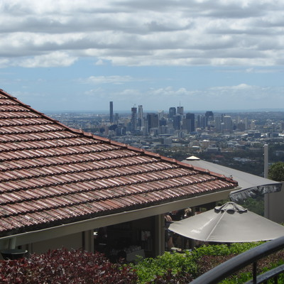 from the Mt Coot-tha summit