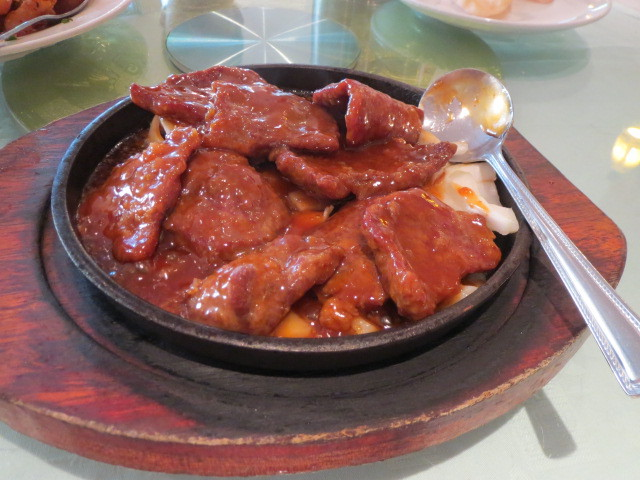 Golden Dragon Palace Seafood Restaurant, Sizzling Cantonese Steak, Adelaide