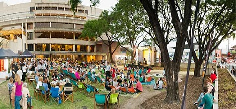 green jam, free music south bank, qpac