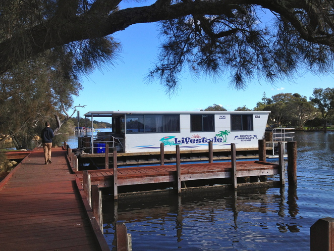 houseboats, river, holiday, mandurah, perth