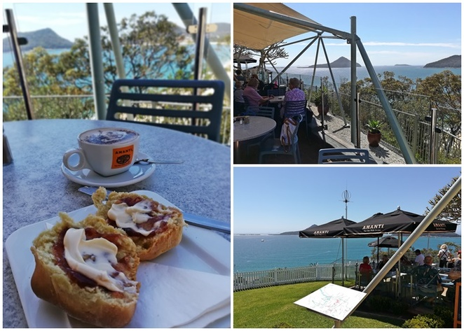 inner light tearooms, cafe, little beach, nelson bay, best cafes in nelson bay, NSW, port stephens, views, lookouts, little beach, attractions, things to do, open early,