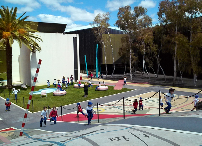 kspace, national museum of australia, canberra, ACT, school holiady activities, families, canberras museums, garden of australian dreams,
