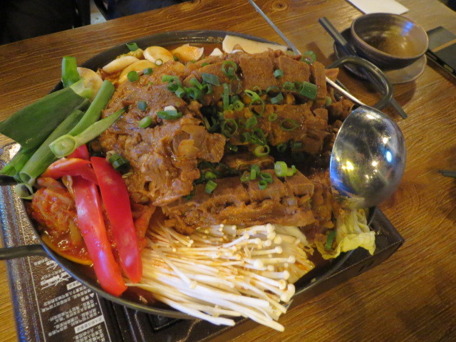 Lazy Nabe, Korean Pork Bone Stew, Adelaide
