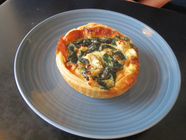 Leabrook Bakehouse & Patisserie, Spinach Quiche, Adelaide