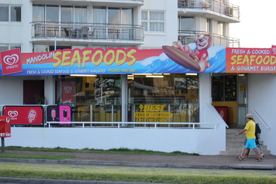 mandolin seafoods, fish, take out