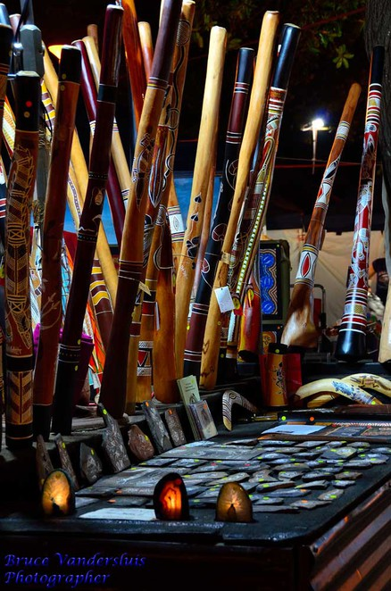 market,beach,sunset,darwin,northern territory,mindil beach,didgeridoo