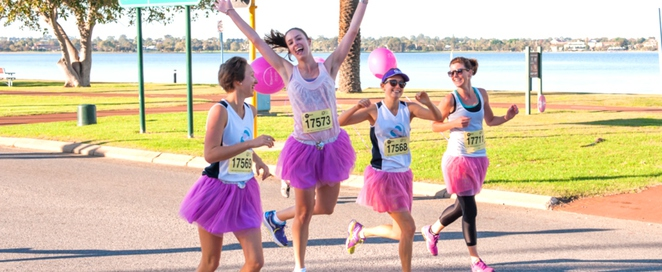 mother's day classic, fun run, charity, good cause, breast cancer, research, fun day, langley park, riverside drive