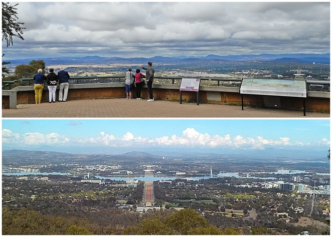 mount ainslie lookout, canberra, ACT, walks, kokoda trail, views, lookouts, best views in canberra, ACT,