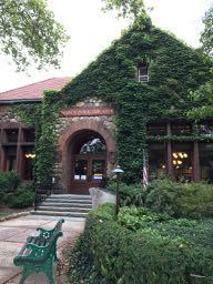nyack, library, new york, hudson valley, art cafe, daytrip